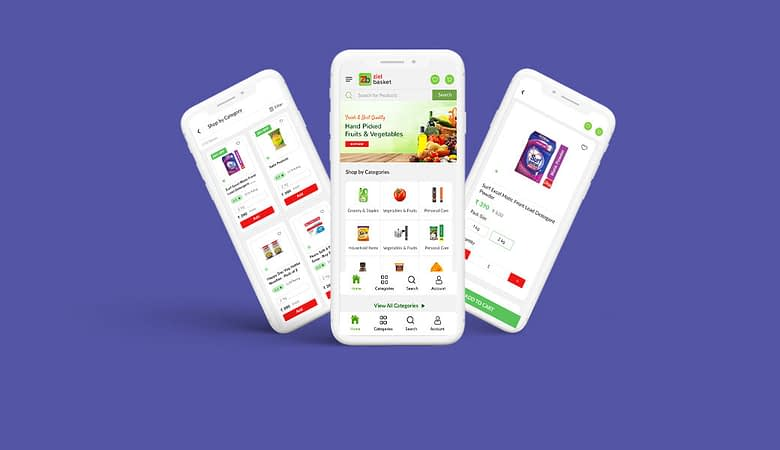 App Like Bigbasket And Grofers